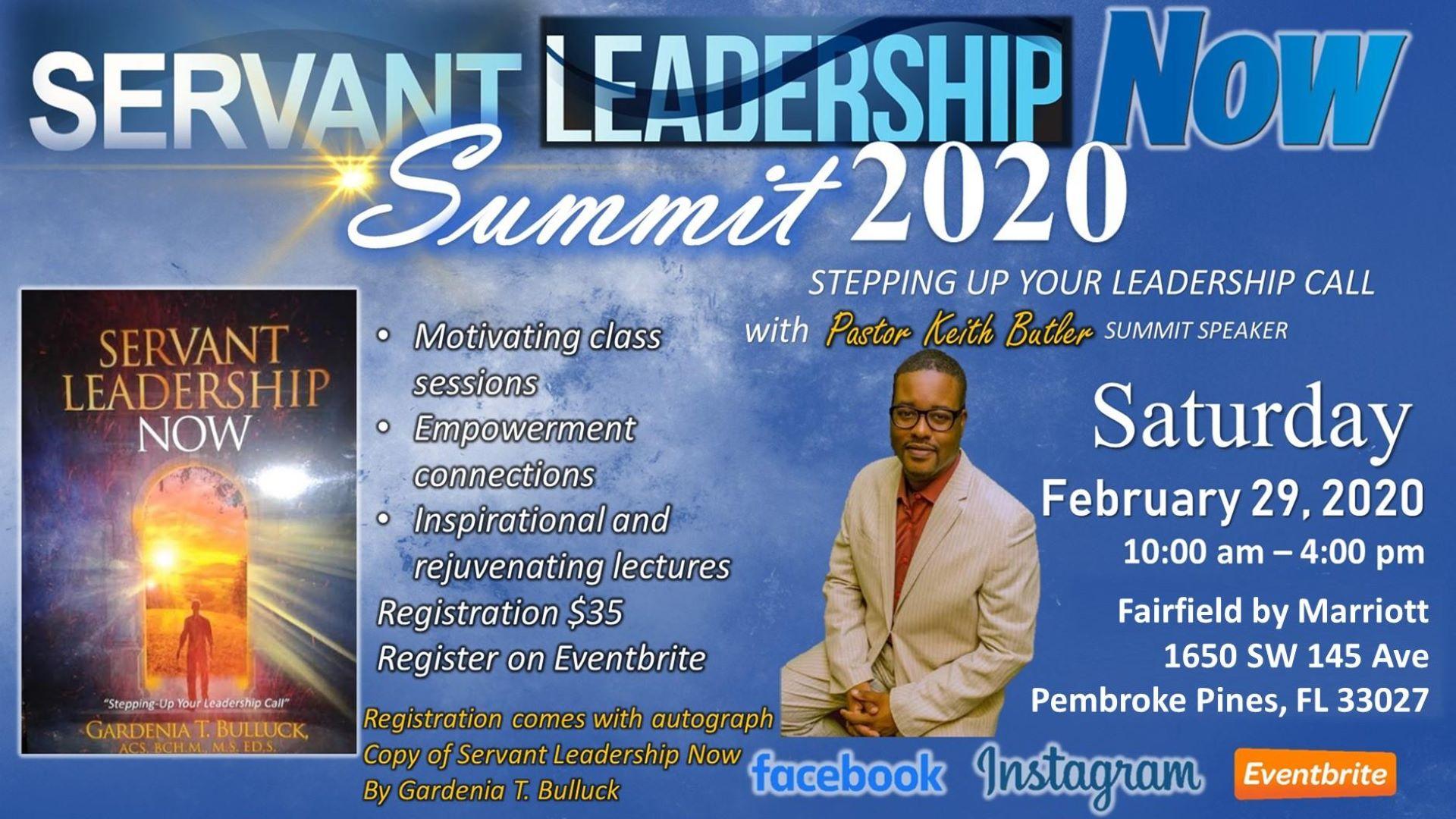 Servant Leadership NOW Summit 2020 Event