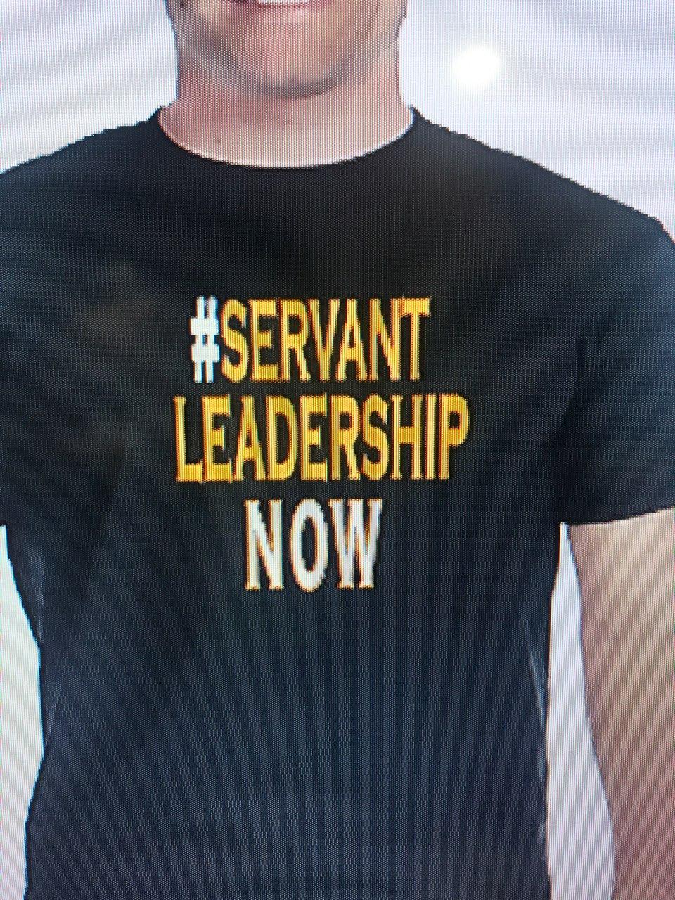 #Servant Leadership NOW
